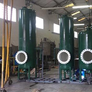 Filtro de areia tratamento de água industrial