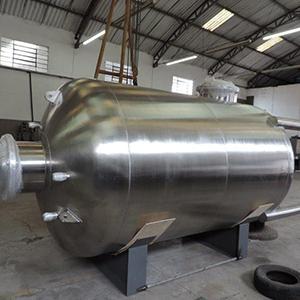 Filtro declorador industrial