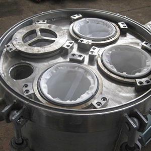 Filtros industriais para tratamento de água