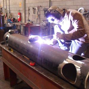 Manutenção de filtros industriais