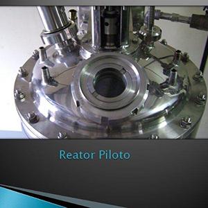 Reator para fabricar resina